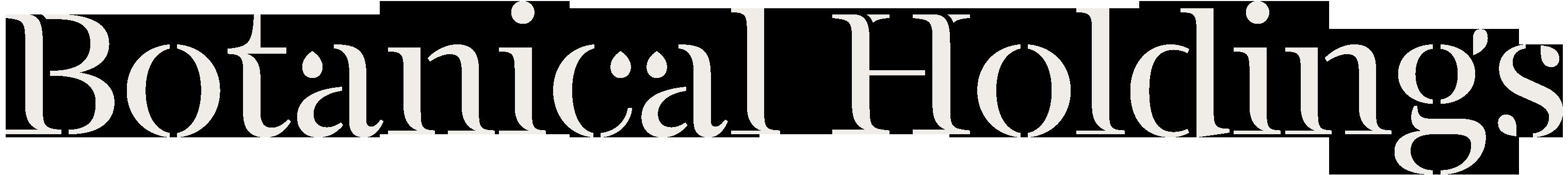 about Botanical Holdings logo